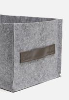 Sixth Floor - Felt storage bin