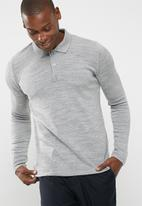 basicthread - Plain polo knit