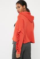 ONLY - Aury ruffle hoodie
