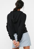ONLY - Aury ruffle hoodie