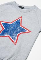 basicthread - Kids printed sweat top