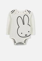 Cotton On - Baby license bubby - white