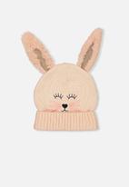 Cotton On - Kids fluffy bunny beanie