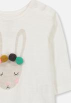 Cotton On - Baby ginger ls tee