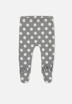 Cotton On - Baby aspen footed legging