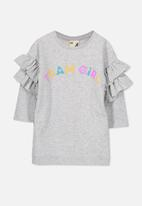 Cotton On - Kids Andrea frill sleeve dress