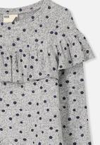 Cotton On - Kids myra ls ruffle top