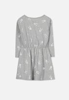 Cotton On - Kids pearl long sleeve dress