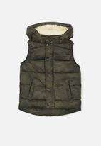Cotton On - Kids palmer puffer vest
