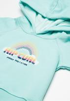 Rip Curl - Mini surf rainbow hoodie