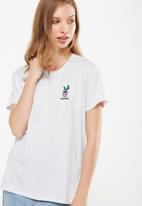 Cotton On - Tbar fox graphic t-shirt