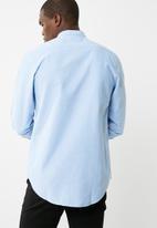 basicthread - Regular Oxford mandarin shirt