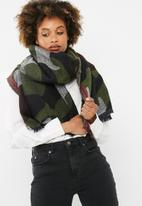 dailyfriday - Rosie camouflage jacquard scarf