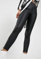 Missguided - Vice high waisted coated skinny
