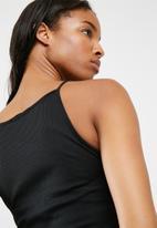 Missguided - 2-pack racer neck rib dress