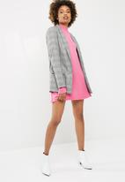 Missguided - High neck slouchy jumper dress