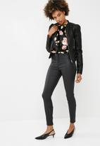 dailyfriday - Velvet twofer bodysuit