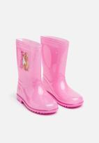 Character Fashion - Kids barbie wellington boots