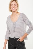 Cotton On - Lisa knot front long sleeve top