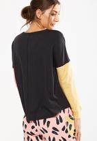 Cotton On - Match back dropped shoulder top