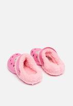 Character Fashion - Kids barbie summer  crocs -Pink