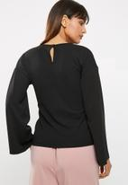 dailyfriday - Knot front knit top
