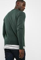 basicthread - Zip- through bomber knit