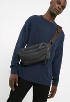 basicthread - Allan crossbody bag - grey