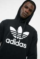 adidas Originals - Over the head hoodie - Black/white