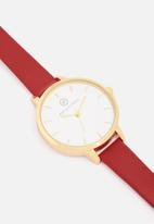 dailyfriday - Alecia watch - red