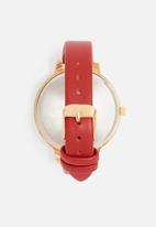 dailyfriday - Alecia watch - red