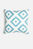 Sixth Floor - South west cushion cover - blue