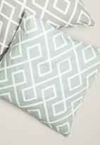 Sixth Floor - Gem cushion cover - duck egg