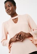 ONLY - Johanna choker blouse
