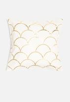 Sixth Floor - Asaim fish scale printed cushion cover