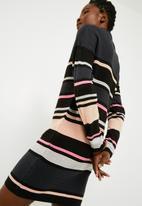 Jacqueline de Yong - Tint striped dress