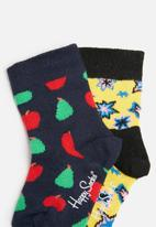 Happy Socks - Kids fruit gift box (0-12months)