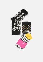 Happy Socks - Kids 2pk shark socks