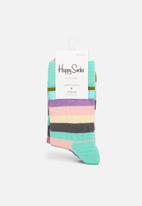 Happy Socks - Kids 2pk big dot socks