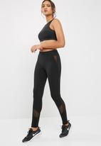 dailyfriday - Long length legging with mesh inset