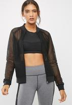 dailyfriday - Mesh bomber jacket