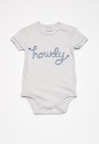 Cotton On - Baby ben bubbysuit - grey