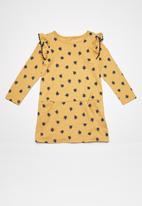 Cotton On - Kids ashlee long sleeve dress