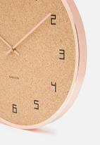 Present Time - Modset cork clock