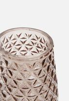 Present Time - Diamond cut vase