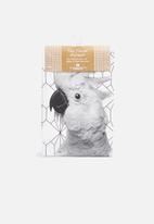 Present Time - Cockatoo tea towel