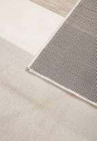 Hertex Fabrics - Block party mist indoor/outdoor rug