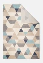 Hertex Fabrics - Triangular rug