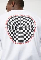 Vans - Checkered tee