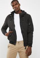 Cotton On - Ma1 hooded bomber jacket